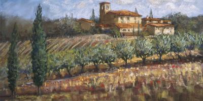 Tuscan Olives-Malcolm Surridge-Art Print