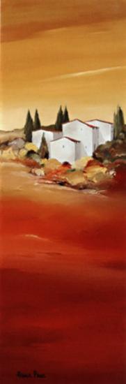 Tuscan Red II-Hans Paus-Art Print