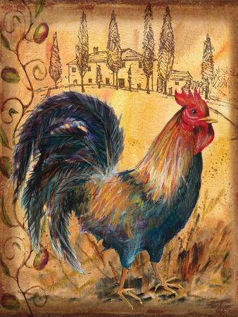 Tuscan Rooster I-Todd Williams-Art Print