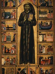 Altarpiece with Life of Saint Francis of Assisi by Tuscan School