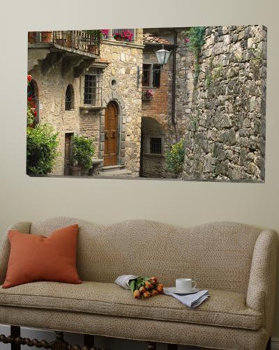 Tuscan Stone Houses-William Manning-Loft Art