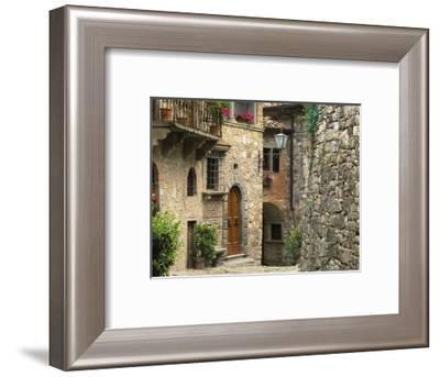 Tuscan Stone Houses-William Manning-Framed Photographic Print