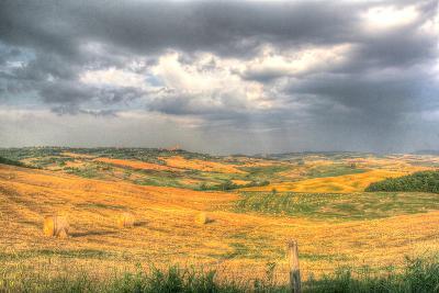 Tuscan Storm I-Robert Goldwitz-Photographic Print