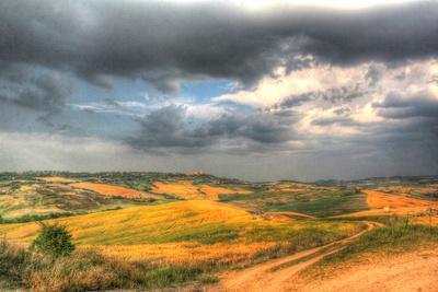 Tuscan Storm II-Robert Goldwitz-Photographic Print