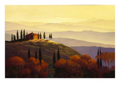 Tuscan Sunrise-Max Hayslette-Premium Giclee Print
