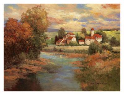 Tuscan Sunset-Kanayo Ede-Art Print