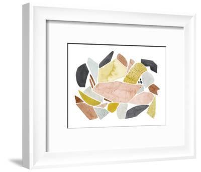 Tuscan Terazzo I-Grace Popp-Framed Art Print
