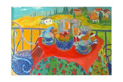 Tuscan Terrace-William Ireland-Giclee Print