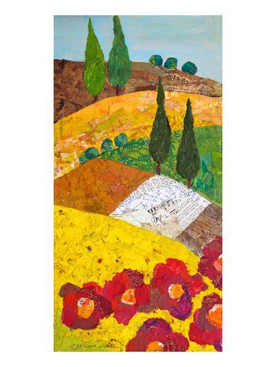 Tuscan Triptych A--Art Print