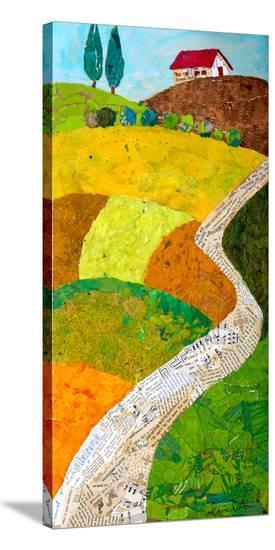 Tuscan Triptych C--Stretched Canvas Print