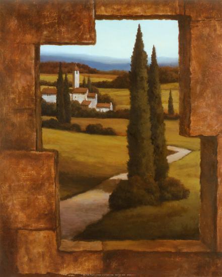 Tuscan Villa II-T^ C^ Chiu-Art Print