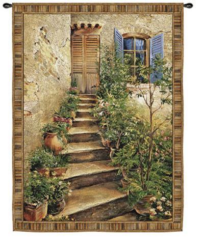 Tuscan Villa II-Roger Duvall-Wall Tapestry