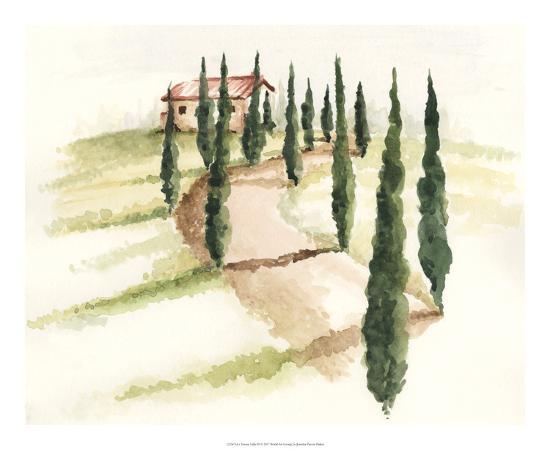 Tuscan Villa III-Jennifer Paxton Parker-Art Print