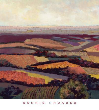 Tuscan Vista-Dennis Rhoades-Art Print