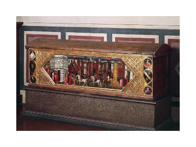 Tuscan Wedding Chest, Decorated with Pastiglia--Giclee Print