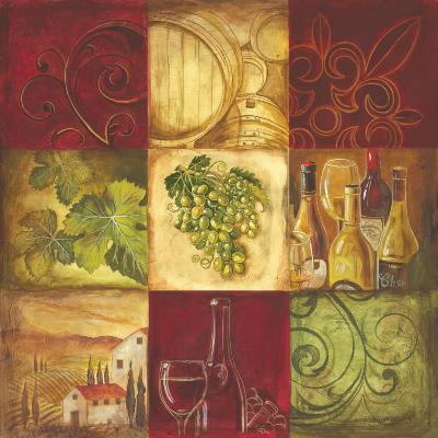 Tuscan Wine I-Gregory Gorham-Art Print