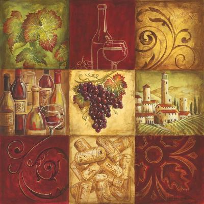 Tuscan Wine II-Gregory Gorham-Premium Giclee Print