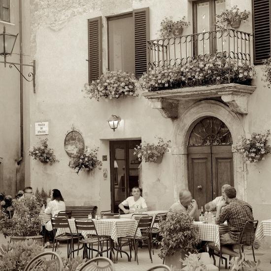 Tuscany Caffe #25-Alan Blaustein-Photographic Print