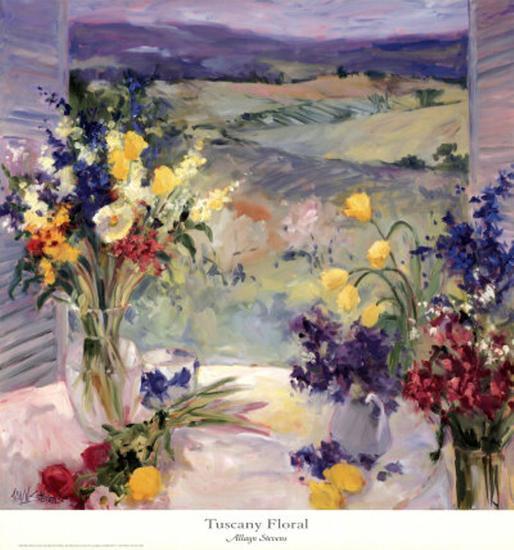 35 best images about tuscan flower arrangements on.htm tuscany floral  art print allayn stevens art com  tuscany floral  art print allayn