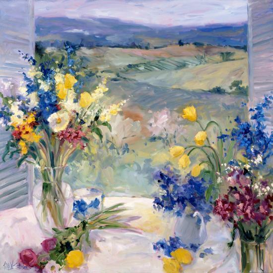 Tuscany Floral-Allayn Stevens-Art Print