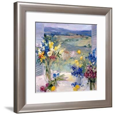 Tuscany Floral-Allayn Stevens-Framed Premium Giclee Print