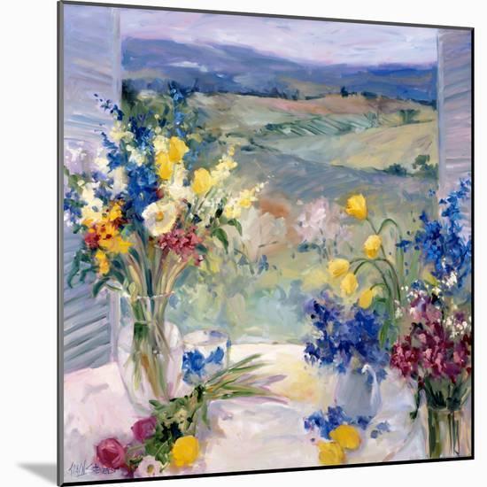 Tuscany Floral-Allayn Stevens-Mounted Premium Giclee Print