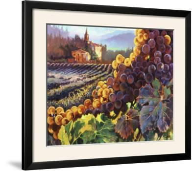 Tuscany Harvest-Clif Hadfield-Framed Photographic Print