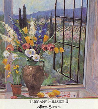 Tuscany Hillside II-Allayn Stevens-Art Print