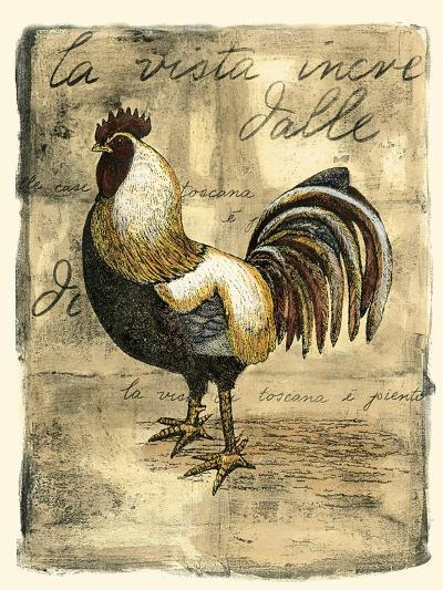 Tuscany Rooster II-D^ Bookman-Art Print