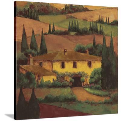 Tuscany Villa-Montserrat Masdeu-Stretched Canvas Print
