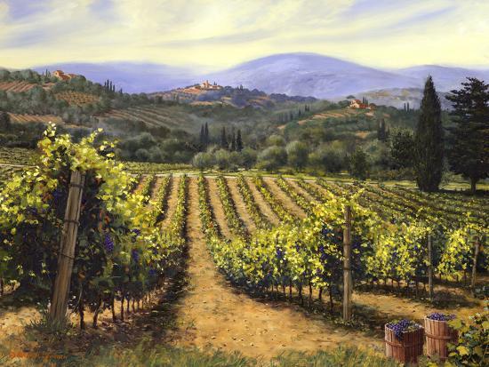 Tuscany Vines-Michael Swanson-Art Print