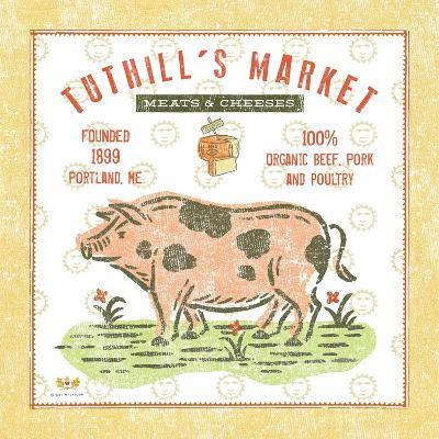 Tuthill Pig-Sudi Mccollum-Art Print