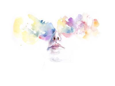 Tutta la Luce Negli Occhi-Agnes Cecile-Art Print