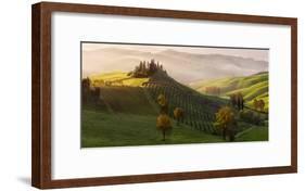 Tutte le Strade Portano a Belvedere-Margarita Chernilova-Framed Art Print