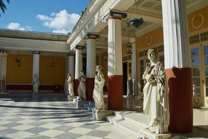 Achilleion Palace of Empress Elisabeth of Austria Well known as Sissi by Tuul
