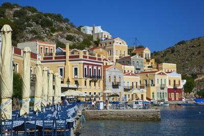 Gialos Harbour, Symi, Dodecanese, Greek Islands, Greece, Europe by Tuul