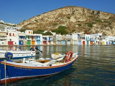 Klima, Old Fishing Village, Milos Island, Cyclades Islands, Greek Islands, Aegean Sea, Greece, Euro by Tuul
