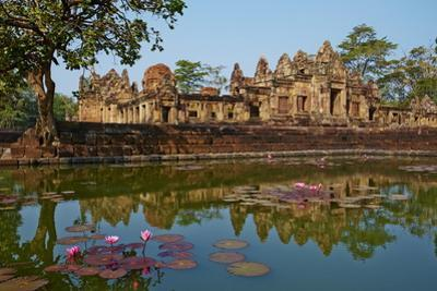 Muang Tham Temple, Khmer Temple from Period and Style of Angkor, Buriram Province, Thailand by Tuul