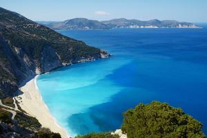 Myrtos Beach, Cephalonia, Ionian Islands, Greek Islands, Greece, Europe by Tuul