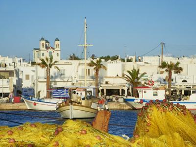 Port, Naoussa, Paros, Cyclades, Aegean, Greek Islands, Greece, Europe by Tuul