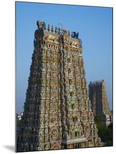 Sri Meenakshi Temple, Madurai, Tamil Nadu, India, Asia by Tuul