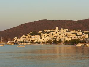 Town and Port, Adamas, Milos, Cyclades Islands, Greek Islands, Aegean Sea, Greece, Europe by Tuul