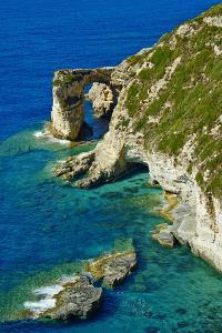 Tripitos Arch, Paxos, Paxi, Ionian Islands, Greek Islands, Greece, Europe by Tuul