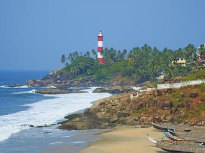 Vizhinjam, Fishing Harbour Near Kovalam and Kovalam Lighthouse, Kerala, India, Asia by Tuul