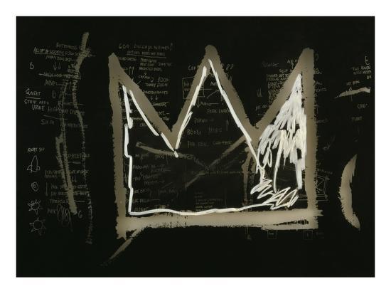 Tuxedo, 1982-83(detail)-Jean-Michel Basquiat-Giclee Print
