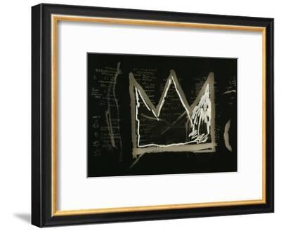 Tuxedo, 1982-83(detail)-Jean-Michel Basquiat-Framed Art Print
