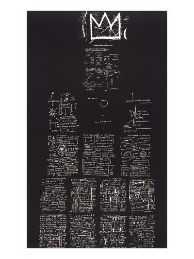 Tuxedo, 1982-83-Jean-Michel Basquiat-Giclee Print