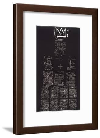 Tuxedo, 1982-83-Jean-Michel Basquiat-Framed Giclee Print