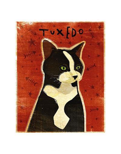 Tuxedo-John Golden-Art Print