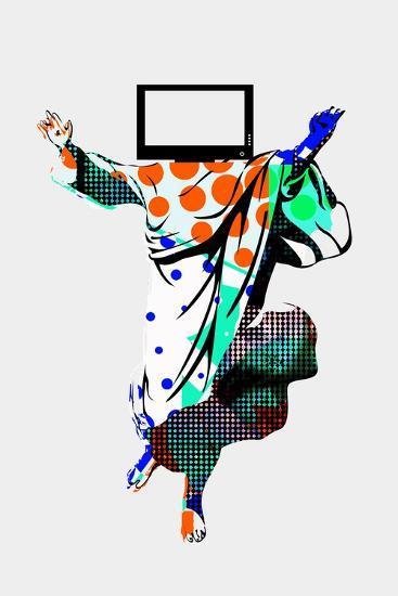 TV Screens Annimo--Art Print